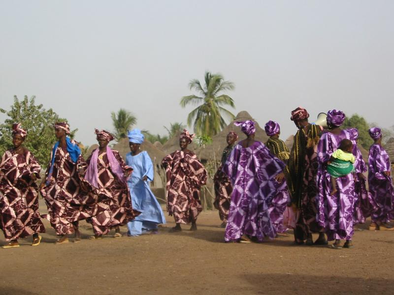 Foto Baro - Die Frauen beim Diagba