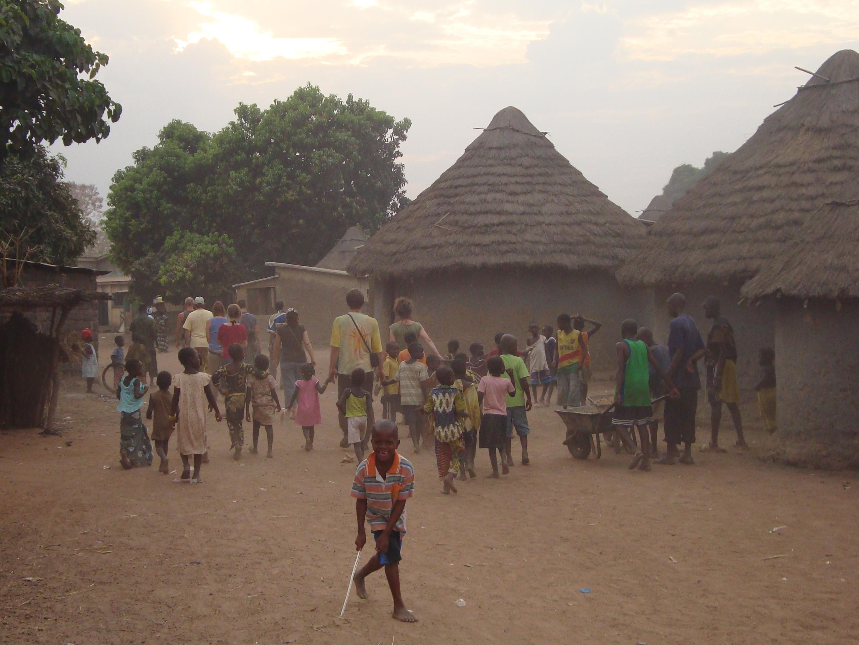 Foto Spaziergang durch das Dorf