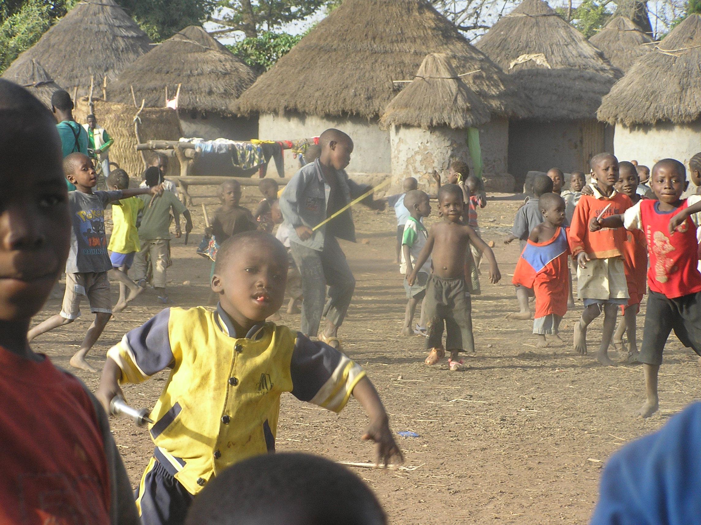 Foto Baro - Kinder tanzen