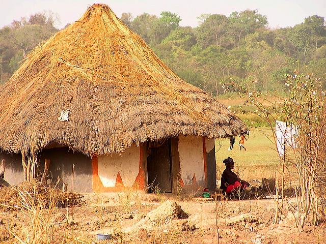 Foto Impression aus dem Dorf Baro