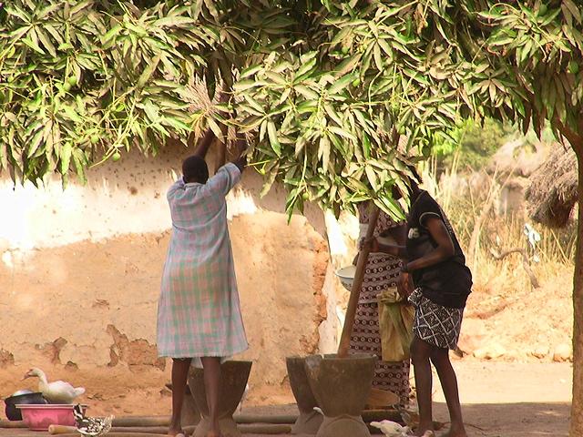 Foto Impressionen aus dem Dorf Baro